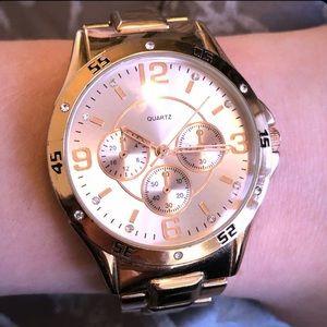 Accessories - Rose Gold Quartz Watch